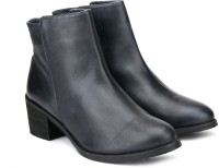 Carlton London Boots For Women(Navy)
