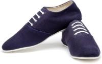 FUNK Kore Navy Blue Canvas Shoes For Men(Blue)
