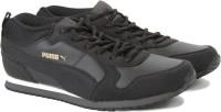 Puma ST Runner Demi Twill IDP Sneakers For Men(Black)