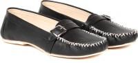 TEN TEN Women's Black Loafers Loafers(Black)