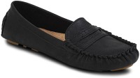 Get Glamr Stylish Loafers For Women(Black)