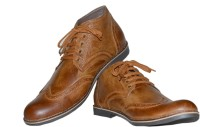 SHOE SMITH SS1072 Casuals For Men(Tan)
