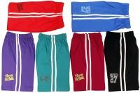 Doller Short For Boys Cotton Linen Blend, Cotton Nylon Blend, Cotton Linen Blend(Multicolor)