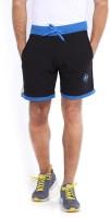 Sports 52 Wear Solid Men Blue, Black Sports Shorts