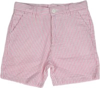Flying Machine Short For Boys Striped Cotton(White)