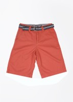 Nautica Short For Boys Cotton(Red)