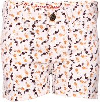 Dreamszone Printed Women's Brown Hotpants