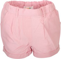 Apricot Kids Short For Girls Polyster(Pink, Pack of 1)