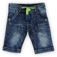 Lilliput Short For Boys Cotton Linen Blend, Cotton Nylon Blend, Cotton Linen Blend(Blue, Pack of 1)
