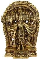 StatueStudio Lord Vishnu Showpiece  -  27.94 cm(Brass, Gold)