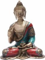 StatueStudio Debating Buddha with Beads and Stones 14
