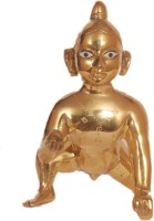 Creative Vision Laddu Gopal1 Showpiece  -  12.7 cm(Brass, Copper)
