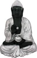 Art N Hub Lord Buddha / Meditating & Resting Gautam Buddh God Vastu Statue Decorative Showpiece  -  38 cm(Silver Finish, Gold)