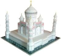 Pooja Creation Taj Mahal Gifterd In Fine Rate Decorative Showpiece  -  30 cm(Stoneware, White)