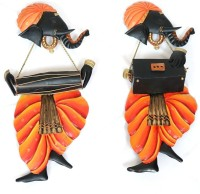 Swapkri Collections Lord Ganesha Decorative Showpiece  -  51 cm(Iron, Multicolor)