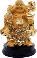 Saanvi Creations Showpiece  -  40 cm(Polyresin, Gold)