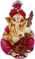 Art N Hub God Ganesh / Ganpati / Lord Ganesha Idol - Statue Gift item Decorative Showpiece  -  12 cm(Earthenware, Multicolor)
