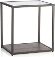 Asian Arts Metal End Table(Finish Color - Black)