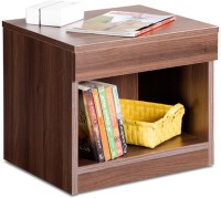 View Debono Engineered Wood Bedside Table(Finish Color - Acacia Dark) Furniture (Debono)