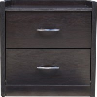 View HomeTown Mozart Engineered Wood Bedside Table(Finish Color - Wenge) Furniture (HomeTown)