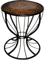 View Acme Production AP-13 Metal Side Table(Finish Color - Walnut Brown) Price Online(Acme Production)
