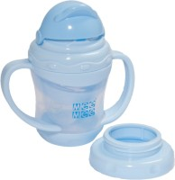 MeeMee 2-in-1 Silicone Sipper(Blue)