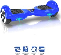 Kiiwi Electric Hands Free 2 Wheels Self Balancing Scooter Blue Quad Roller Skates - Size 6-12 UK(Blue)
