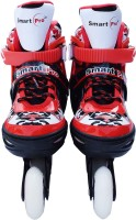 Smart Pro 1163 Red Extra Large In-line Skates - Size 6-8 UK(Red)