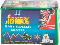 Jonex Baby Quad Roller Skates - Size 12 - 16 US(Red)
