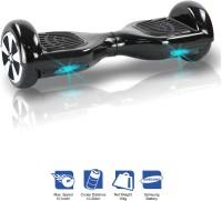 Kiiwi Electric Hands Free 2 Wheels Self Balancing Scooter Black Quad Roller Skates - Size 6-12 UK(Black)