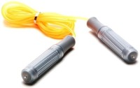Cosco Leap Freestyle Skipping Rope(Yellow, Silver, Length: 275 cm)