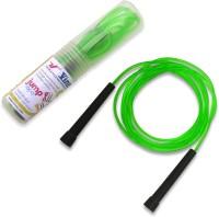 Vinex Vinex Jumping Rope - Premium (PVC, Transparent Green) Freestyle Skipping Rope(Green, Length: 279 cm)
