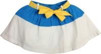 Apricot Kids Solid Girls Regular White Skirt