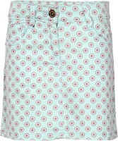 Dreamszone Printed Girls Regular Blue Skirt