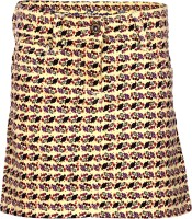 Dreamszone Printed Girls Regular Yellow Skirt