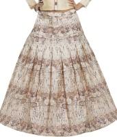 Aayori Printed Women Regular Multicolor Skirt