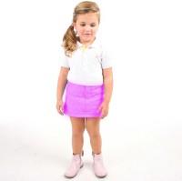 Cherry Crumble California Argyle Girls A-line Purple Skirt