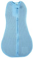 Creative India Exports One-Step Baby Air Summer Swaddle Sleeping Bag(Blue)