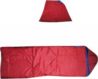 Bs Spy 4 In 1 Reversible Cum QuiltT Sleeping Bag(Red)