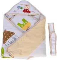 MeeMee Warm Wrapper with Hood Sleeping Bag(Beige)