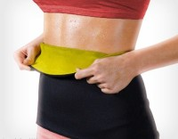 Welcome India Bazaar hot shapewear Slimming Belt(Black) - Price 129 87 % Off