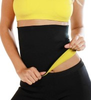 R.A.S Enterprises Hot Shapers S-Size Slimming Belt(Black, Yellow) - Price 199 80 % Off