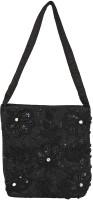 Gold Zari House Black Sling Bag