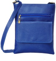 Creative India Exports Women Blue Polyester Sling Bag