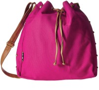 Creative India Exports Women Pink Canvas Sling Bag
