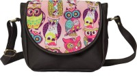 Band Box Pink, Brown Sling Bag