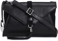 Phive Rivers Women Black Genuine Leather Sling Bag