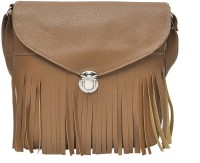 Hawai Women Brown PU Sling Bag
