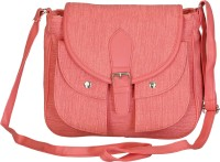 Belladona Women Pink PU Sling Bag