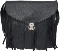 Hawai Women Black PU Sling Bag